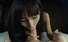 Teen ladyboy in chains sucking dick and anal poked
