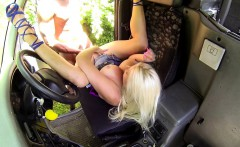 Bigtitted taxi driver pussyfucked by bbc