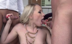 Assfucked eurobabe loves getting jizzed on