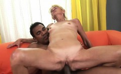 Slutty Granny Rides Hard On A Bbc