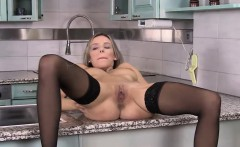 Beautiful Annie loves to striptease