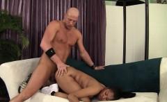 ebony pornstar yasmine gets a load on her ass