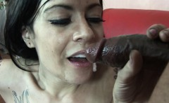 Sexy Vanessa Naughty gets naughty with some black cock