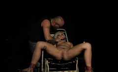 tattooed submissive banged in missionary