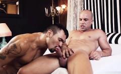 Latin gay spanking and facial cum