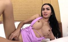 Big Boobs Asian Ladyboy Deep Anal Fucked By A Huge Dick