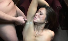 brunette slut cece makes a dick explode
