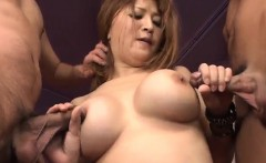 Yuki Touma sure knows how to handle a big cock