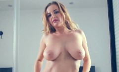 Fucking horny blonde Candy Alexa with big tits