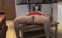 Booty Mature Blonde Fucks Her Hairy Pussy