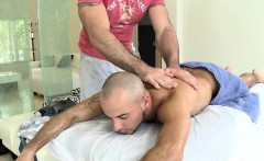 Twink Is Giving A Delightful Orall-service For Gay Masseur