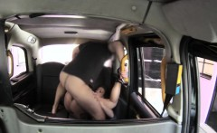 big tits babe ass fucked by fake driver in the backseat
