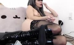 Small titted blondie Aurora Snow having anal sex