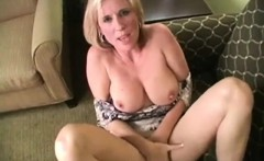 kinky mature with huge boobs having her way with a boy