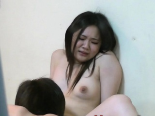 Asian fingered and fucked