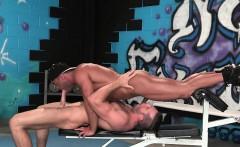 Big cock gay oral sex and cumshot