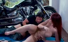 Skyla Novea takes a bigcock deep inside her wet pussy