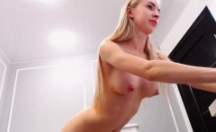 Crystal the blonde beauty solo