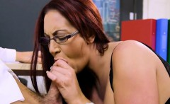 busty boss emma butt blows her hung assistant