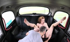 Redhead Chelsy trades sex for a ride