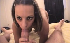 Couple gets really sexy and heavy on taped fuck session