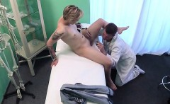 Chick Megan Talerico Has Her Cunt Licked By Doctor