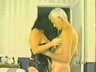 Sexy brunettes fucked hard in Classic video