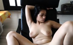 Dirty Big Breasted Teen Teases And Masturbates
