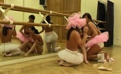 Teen brutal Hot ballet doll orgy