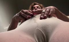 American Gilf Melody Garner Pleasures Her Hairy Pussy