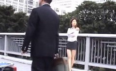 Needy Young Japanese Cutie Flashing Melons Before Sex