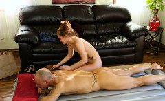 Perky Tits Masseuse Alaina Dawson Pounded By Her Client