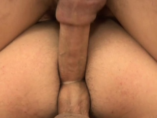 Facialized euro jock gets rimmed from behind