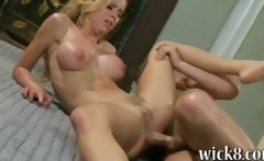 Huge rack blonde pornstar Jessie Rogers asshole pounded