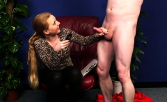 Fullyclothed British Amateur Blowing Cock