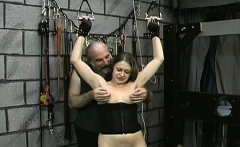Wicked spanking and sex in slavery video