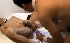 Asian twinks gobble cocks