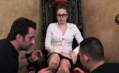 Serf humiliated by mistresse in hardcore female domination