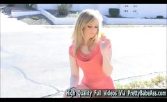 Tatum teen first experience in adult
