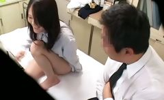 Spycam Schoolgirl misused by Doctor 1