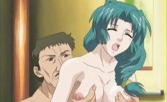 hentai wife enjoys mouth fucking