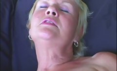 Blonde Milf and her electric toy