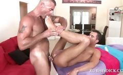 Straight stud gets his dick and ass fucked gay