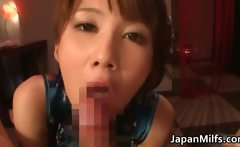 Horny japanese MILFS sucking and fucking