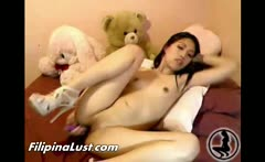 Filipina Asian Slut Fingering Solo