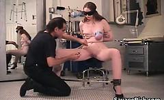 Hot filthy nasty big boobed schoolgirl