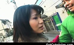 Naked in the city free asian porn video