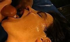 Hot Sperm Facial Bukkake Cumshots