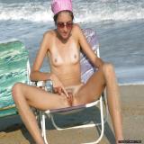 Daring outdoor and public masturbation of ordinary females