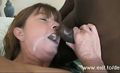 party Milf Dee enjoys BBC and Facial